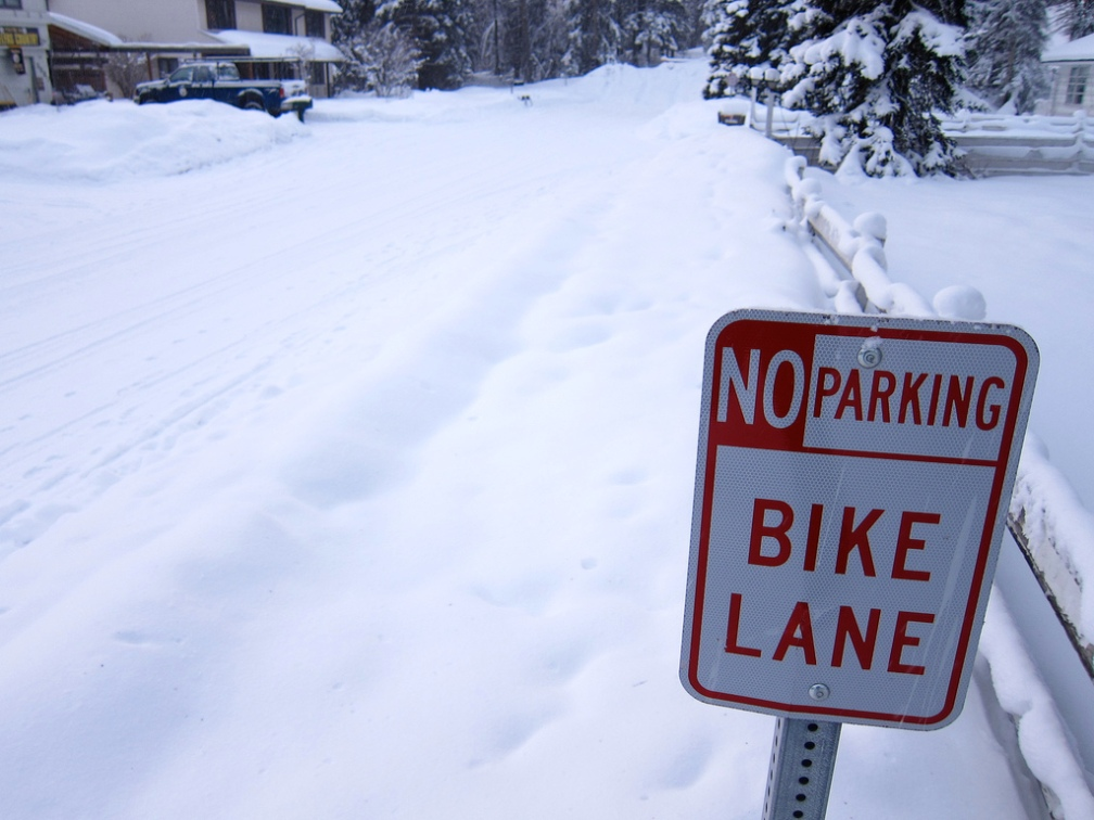 Alaskan Bike Lane